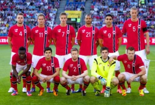 ノルウェー代表:1stユニフォー...