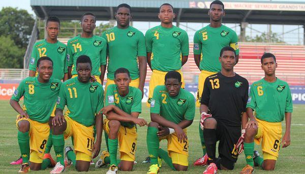 ジャマイカ代表:2ndユニフォー...