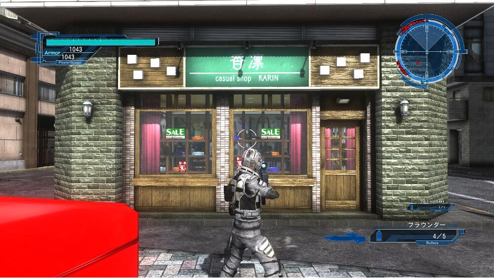 地球防衛軍5 店 画像